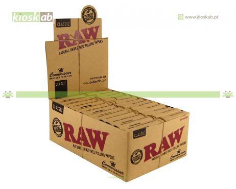 Raw King Size Slim + Pre-rolled Tips (24)