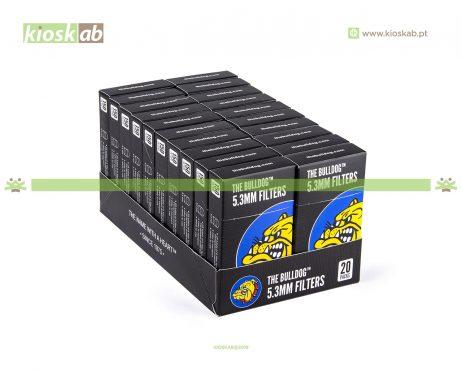 The Bulldog Amsterdam Filtros Pop-a-Tip 5.3mm (20)