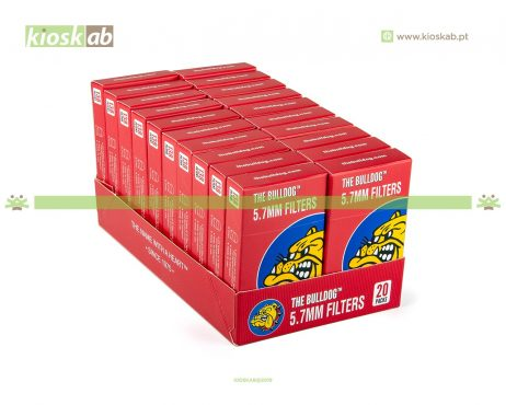 The Bulldog Amsterdam Filtros Pop-a-Tip Ultra Slim 5.7mm (20)