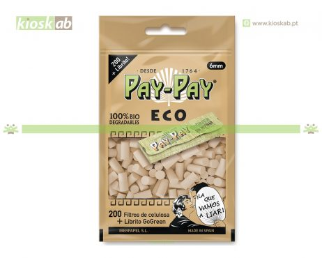 Pay-Pay Filtros Slim Eco 200 + Livro Go Green (35)