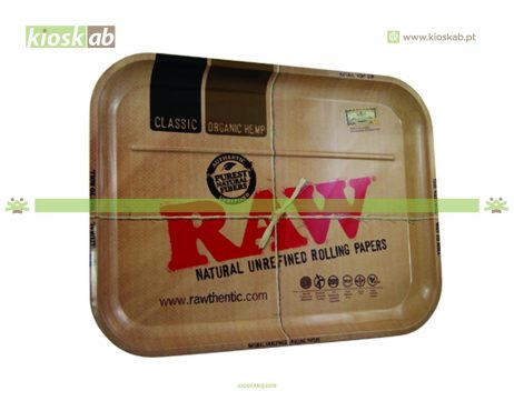 Raw Metal Rolling Tray XXL