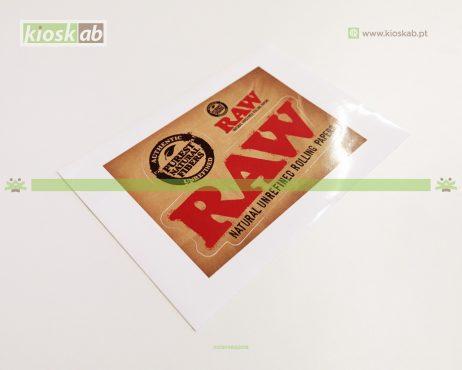 Raw Sticker Double
