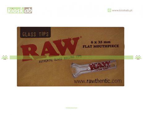 Raw Glass Tip Flat