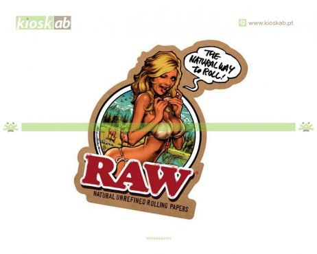 Raw Sticker Girl Japan