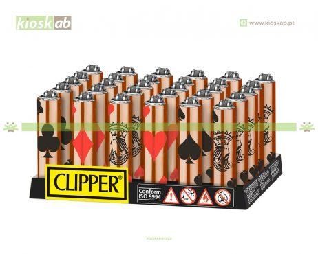 Clipper Isqueiro Micro Fundas Poker Symbols