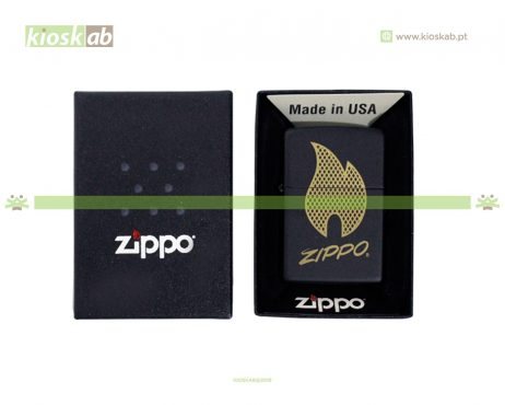 Zippo Flame Black