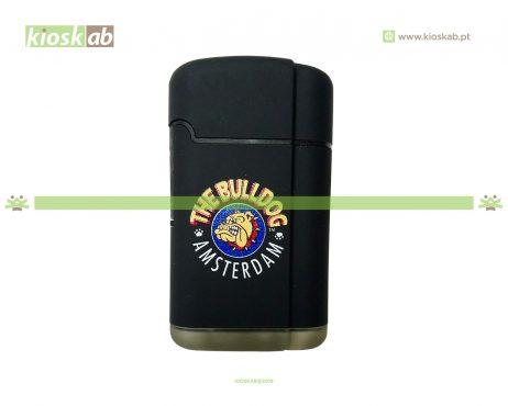 The Bulldog Amsterdam Lighter Double Laser Black