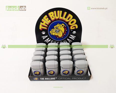 The Bulldog Amsterdam Lighter Double Laser Grey