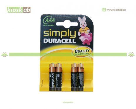 Duracell Pilha LR03 Simply