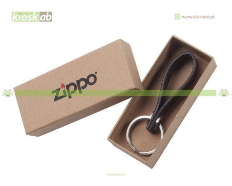 Zippo Porta Chaves Pele