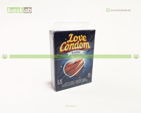Preservativos Love Condom Sensitive Pk.3 (48)