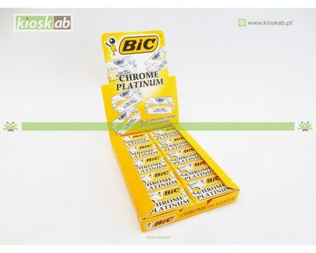 Lâminas De Barbear Bic Chrome Platinum