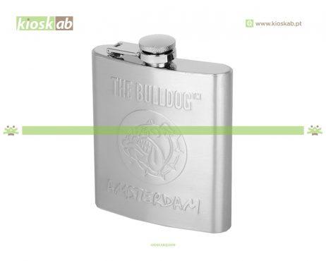 The Bulldog Amsterdam Hip Flask